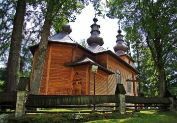 The Filial Greek Catholic Church of the Protection of the Mother of God in Krynica-Słotwiny